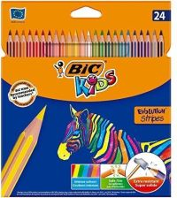 BIC kredki Evolution Stripes 24 kolory